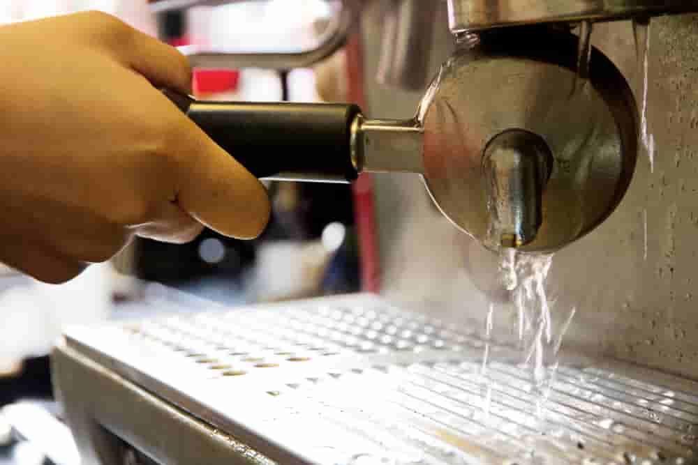 Deep Cleaning Espresso Machine
