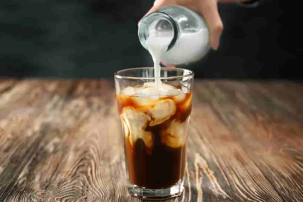 prepare iced coffee