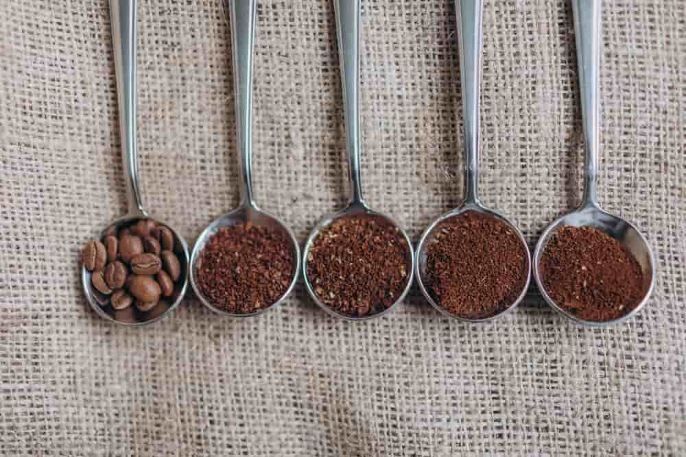 types of coffee grind