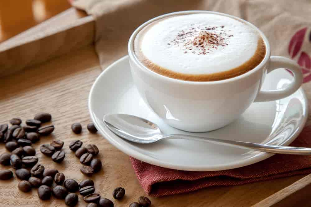 cappuccino with milk