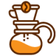 Coffee Brewing Icon